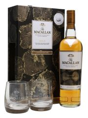 Macallan Gold 2 Glass Gift Set