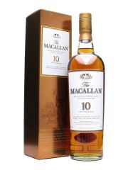 Macallan 10 Year Old Sherry Oak