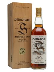 Springbank 25 Year Old Millennium Set