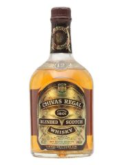 Chivas Regal 12 Year Old Bot.1970s