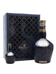 Royal Salute 21 Year Old Gift Pack with Miniature Blue