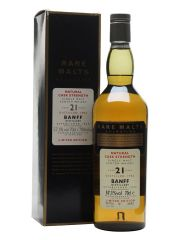 Banff 1982 21 Year Old Rare Malts