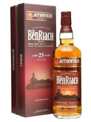 Benriach 25 Year Old Authenticus Peated Malt