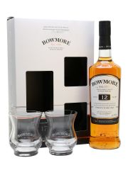 Bowmore 12 Year Old Glass Pack