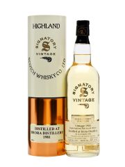 Brora 1981 20 Year Old Signatory