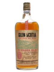 Glen Scotia 8 Year Old Bot.1960s