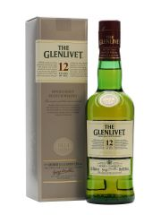 Glenlivet 12 Year Old Half Bottle