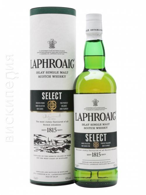Laphroaig Select - Шотландский односолодовый виски: рейтинг, отзывы, дегустационные заметки