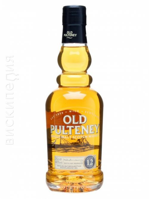 Old Pulteney 12 Year Old Half Bottle