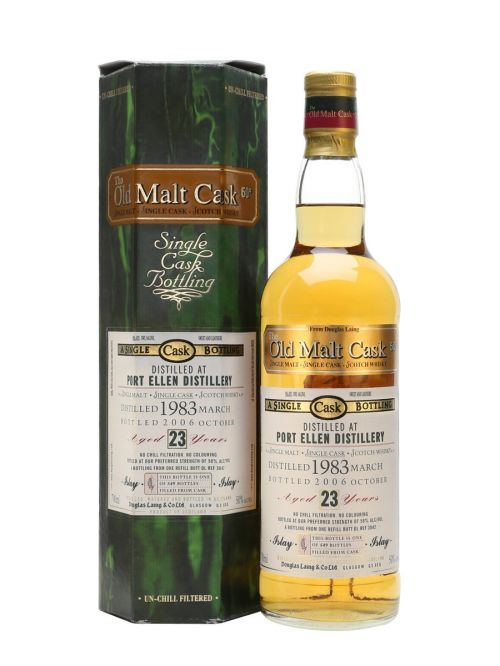 Port Ellen 1983 23 Year Old Old Malt Cask