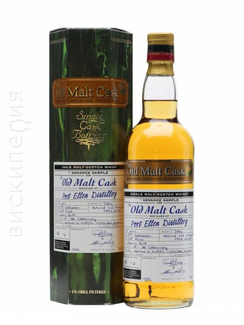 Port Ellen 1979 25 Year Old Douglas Laing Cask #6111