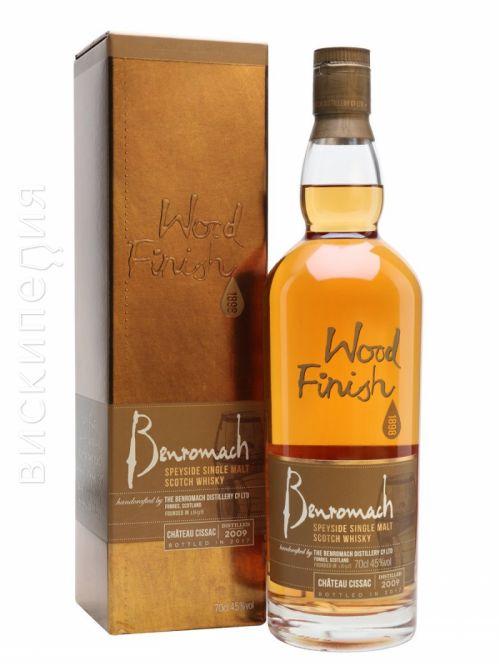 Benromach 2009 Bot.2017 Chateau Cissac Finish