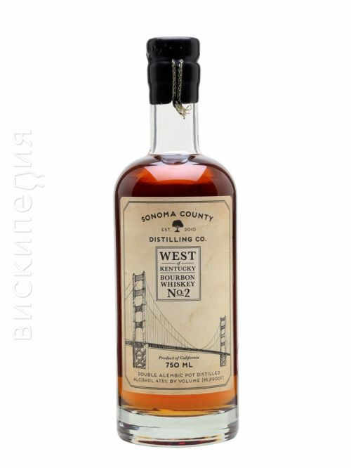 Sonoma County West Of Kentucky Bourbon No.2