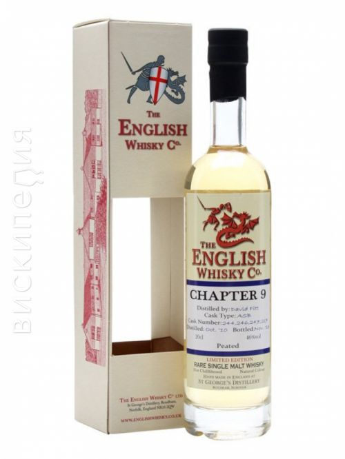 English Whisky Co. Chapter 9 Peated