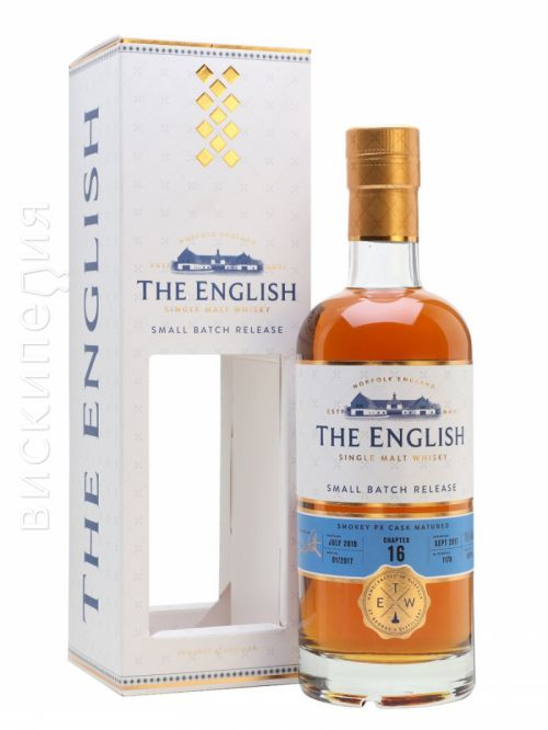 English Whisky Co. Chapter 16 2010 Bot.2017