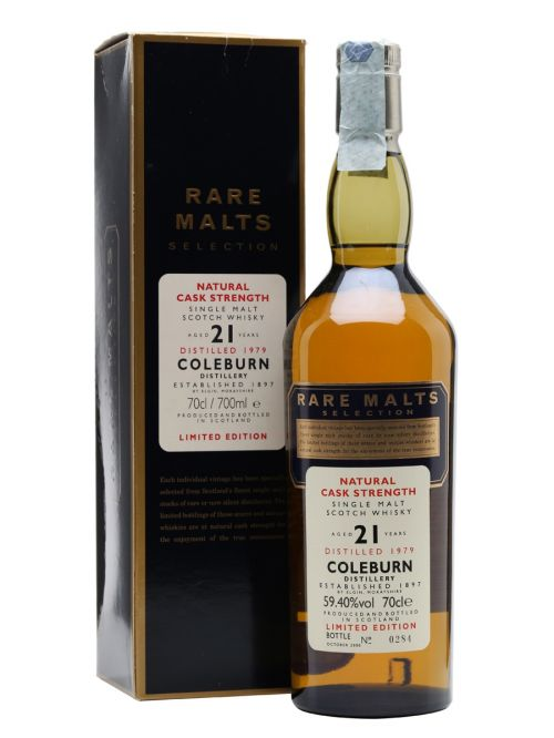 Coleburn 1979 21 Year Old Rare Malts