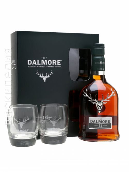 Dalmore 15 Year Old 2 Glass Pack