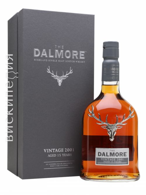 Dalmore 2001 15 Year Old Port Vintages Collection
