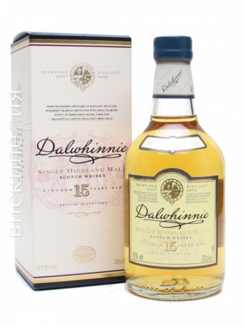 Dalwhinnie 15 Year Old Small Bottle