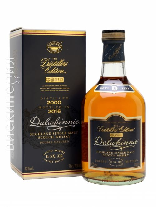 Dalwhinnie 2000 Distillers Edition Bot.2016