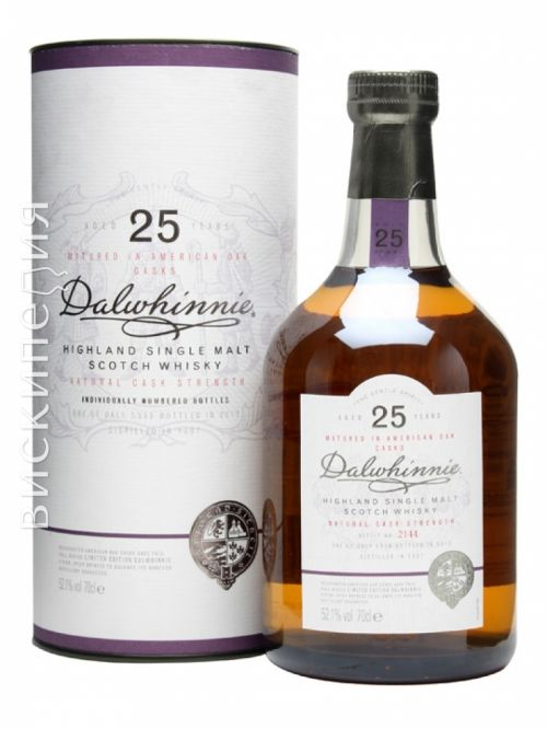 Dalwhinnie 1987 25 Year Old Special Releases 2012