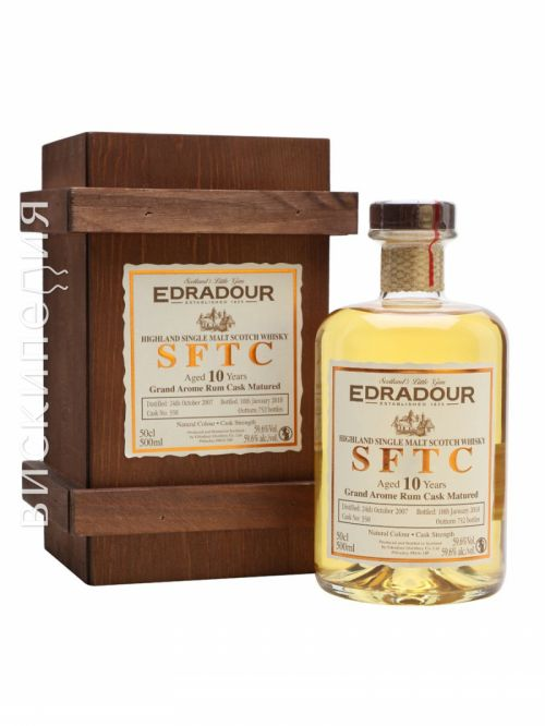 Edradour 2007 10 Year Old Rum Cask