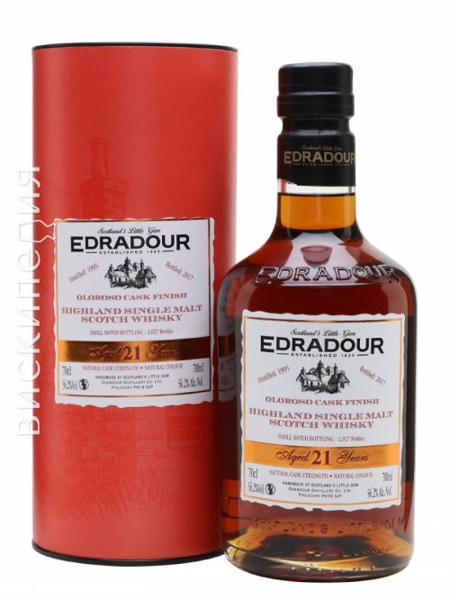 Edradour 1995 21 Year Old Oloroso Finish