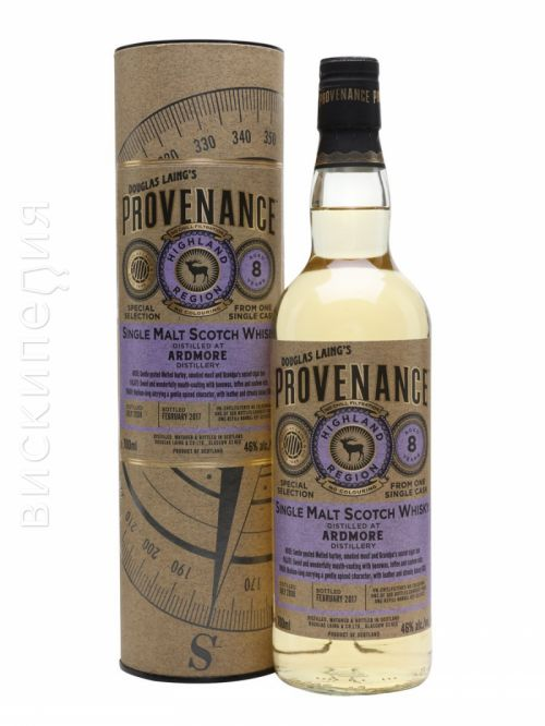 Ardmore 2008 8 Year Old Provenance
