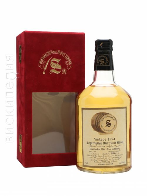 Glenesk 1974 27 Year Old Signatory