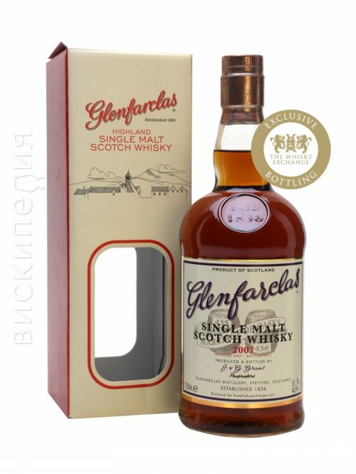 Glenfarclas 2007 Marriage of Casks TWE Exclusive