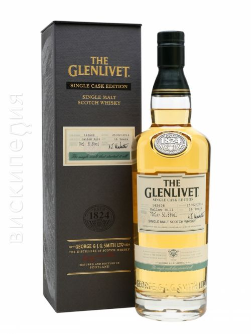 Glenlivet 16 Year Old Bot.2014 Gallow Hill