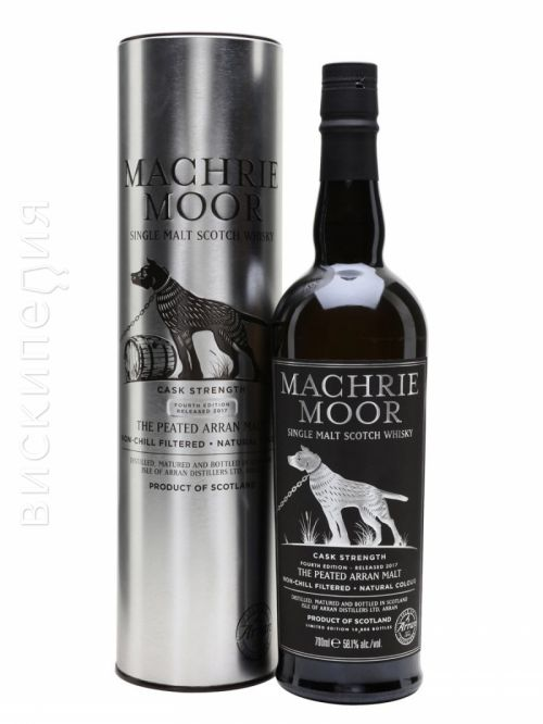 Arran Machrie Moor Cask Strength Fourth Edition