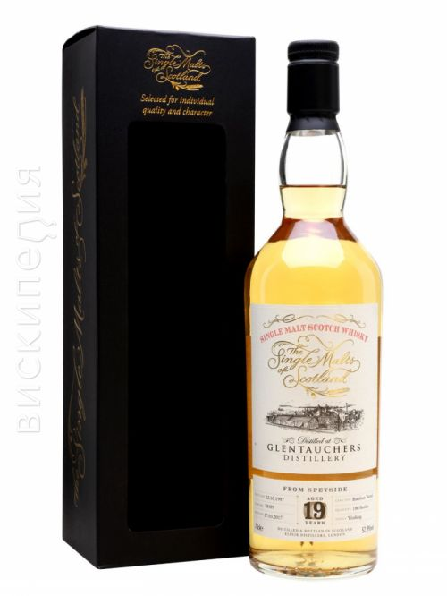 Glentauchers 1997 19 Year Old Single Malts of Scotland